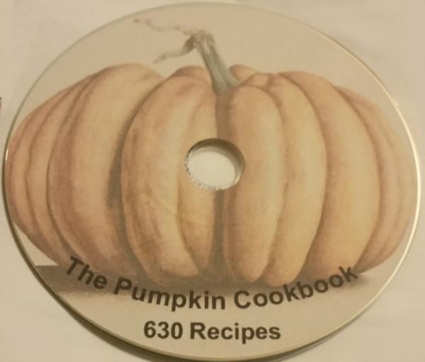 Pumpkin Recipe Book 630